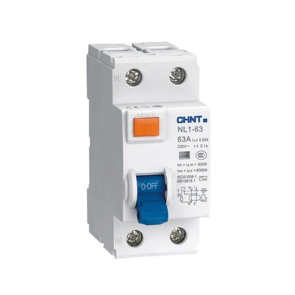 Chint interruptor diferencial nl1 2 25 30a 2x25 30ac - Interruptor diferencial precio ...